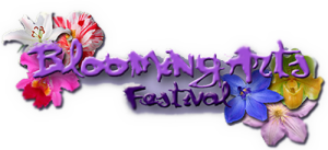 Blooming Arts Festival in Linden Tennessee Logo